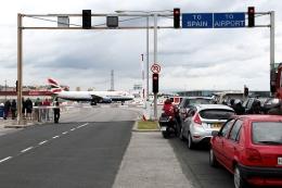 kinsanさんが、ジブラルタル空港で撮影したブリティッシュ・エアウェイズ A320-232の航空フォト(飛行機 写真・画像)
