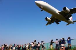 JAA DC-8さんが、伊丹空港で撮影した日本航空 777-289の航空フォト(写真)