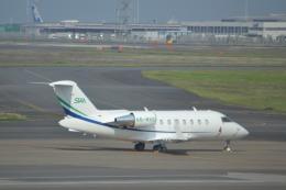 お-そ松さんが、羽田空港で撮影したスカイリンク・アラビア CL-600-2B16 Challenger 604の航空フォト(飛行機 写真・画像)