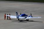 T.Sazenさんが、神戸空港で撮影した本田航空 58 Baronの航空フォト(写真)