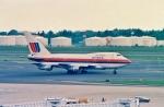 シグナス01さんが、成田国際空港で撮影したユナイテッド航空 747SP-21の航空フォト(写真)