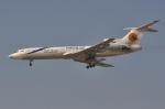 RUSSIANSKIさんが、ドバイ国際空港で撮影したターバーン航空 Tu-154Mの航空フォト(飛行機 写真・画像)