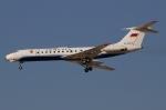 RUSSIANSKIさんが、ドバイ国際空港で撮影したArmenian Goverment Tu-134Aの航空フォト(飛行機 写真・画像)