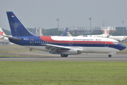 jun☆さんが、スカルノハッタ国際空港で撮影したスリウィジャヤ航空 737-2B7/Advの航空フォト(飛行機 写真・画像)