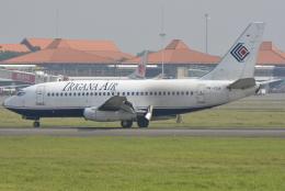 jun☆さんが、スカルノハッタ国際空港で撮影したトリガナ・エア・サービス 737-228/Advの航空フォト(飛行機 写真・画像)