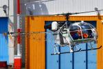 Chofu Spotter Ariaさんが、東京ヘリポートで撮影したアカギヘリコプター SA315B Lamaの航空フォト(写真)