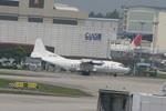 meijeanさんが、シンガポール・チャンギ国際空港で撮影したエアマーク・アビエーション・シンガポール An-12の航空フォト(写真)