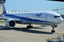 Nyaonさんが、ワシントン・ダレス国際空港で撮影した全日空 777-381/ERの航空フォト(飛行機 写真・画像)