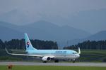 xxxxxzさんが、静岡空港で撮影した大韓航空 737-9B5/ER の航空フォト(飛行機 写真・画像)