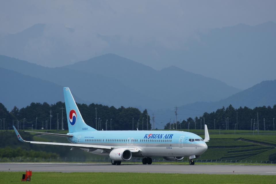 xxxxxzさんの大韓航空 Boeing 737-900 (HL8223) 航空フォト