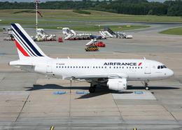 航空フォト:F-GUGD エールフランス航空 A318
