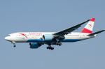 パンダさんが、成田国際空港で撮影したオーストリア航空 777-2B8/ERの航空フォト(写真)