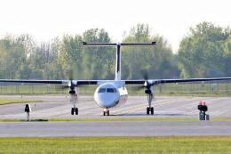 aircanadafunさんが、モントリオール・ピエール・エリオット・トルドー国際空港で撮影したクリーベック航空 DHC-8-314 Dash 8の航空フォト(飛行機 写真・画像)