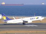 rjnsphotoclub-No.07さんが、中部国際空港で撮影したスカイマーク 737-86Nの航空フォト(写真)