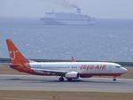 rjnsphotoclub-No.07さんが、中部国際空港で撮影したチェジュ航空 737-86Qの航空フォト(飛行機 写真・画像)