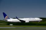 パンダさんが、成田国際空港で撮影したユナイテッド航空 737-824の航空フォト(写真)