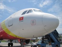 y.hamaさんが、カットビ国際空港で撮影したベトジェットエア A320-214の航空フォト(飛行機 写真・画像)