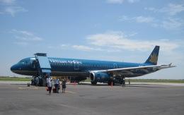 y.hamaさんが、カットビ国際空港で撮影したベトナム航空 A321-231の航空フォト(飛行機 写真・画像)