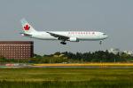 パンダさんが、成田国際空港で撮影したエア・カナダ 767-375/ERの航空フォト(写真)