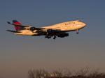 NOCKsさんが、成田国際空港で撮影したデルタ航空 747-451の航空フォト(飛行機 写真・画像)