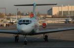 RUSSIANSKIさんが、イスラム・カリモフ・タシュケント国際空港で撮影したウズベキスタン航空 Yak-40の航空フォト(飛行機 写真・画像)