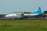 RUSSIANSKIさんが、アムステルダム・スキポール国際空港で撮影したアントノフ・エアラインズ An-12の航空フォト(飛行機 写真・画像)