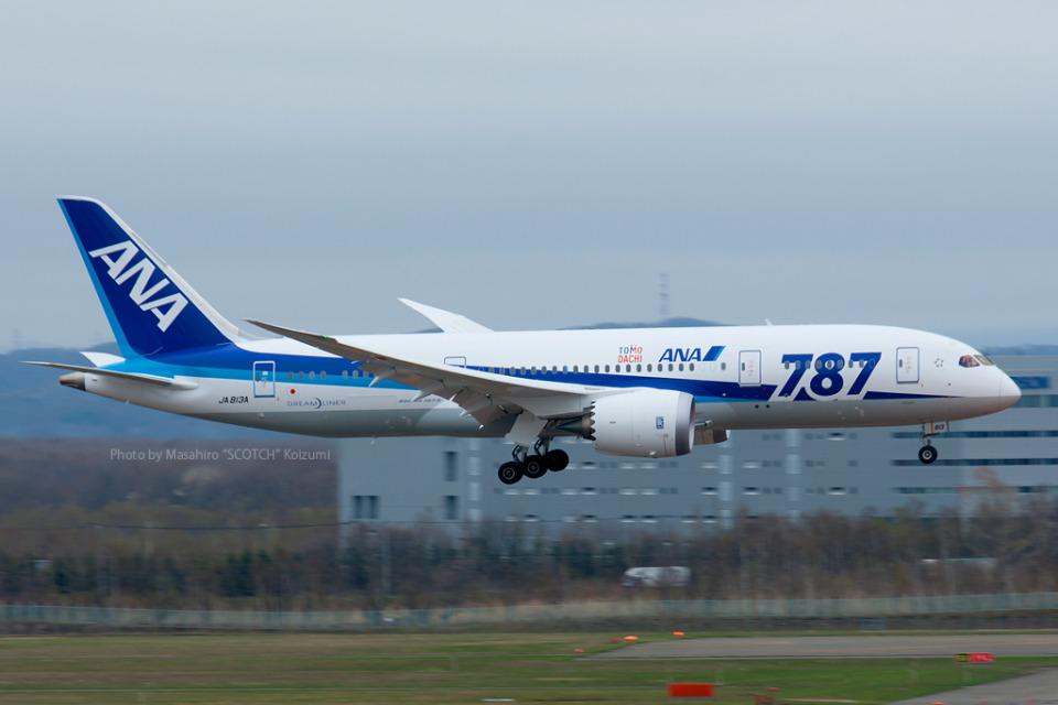 Scotchさんの全日空 Boeing 787-8 Dreamliner (JA813A) 航空フォト