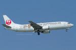 Scotchさんが、那覇空港で撮影した日本トランスオーシャン航空 737-4Q3の航空フォト(写真)
