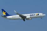Scotchさんが、那覇空港で撮影したスカイマーク 737-8HXの航空フォト(飛行機 写真・画像)