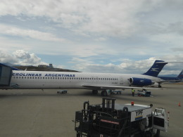 katsuakiさんが、ウシュアイア=マルビナス・アルゼンチン国際空港で撮影したアルゼンチン航空 MD-83 (DC-9-83)の航空フォト(飛行機 写真・画像)