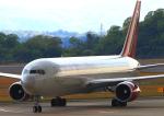 ふじいあきらさんが、広島空港で撮影したオムニエアインターナショナル 767-328/ERの航空フォト(飛行機 写真・画像)