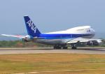 ふじいあきらさんが、広島空港で撮影した全日空 747-481(D)の航空フォト(写真)