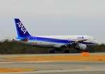 ふじいあきらさんが、広島空港で撮影した全日空 A320-211の航空フォト(写真)
