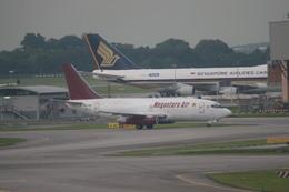 meijeanさんが、シンガポール・チャンギ国際空港で撮影したメガンタラ・エア 737-209/Adv(F)の航空フォト(飛行機 写真・画像)