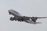 たろさんが、関西国際空港で撮影したルフトハンザドイツ航空 747-430の航空フォト(写真)