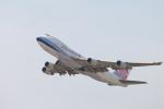 たろさんが、関西国際空港で撮影したチャイナエアライン 747-409F/SCDの航空フォト(写真)