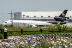 パンダさんが、成田国際空港で撮影したUPS航空 MD-11Fの航空フォト(写真)
