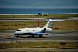 T.Sazenさんが、関西国際空港で撮影した-- BD-700-1A10 Global Expressの航空フォト(写真)