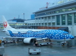 GE90777-300ERさんが、那覇空港で撮影した日本トランスオーシャン航空 737-4Q3の航空フォト(写真)