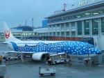 GE90777-300ERさんが、那覇空港で撮影した日本トランスオーシャン航空 737-4Q3の航空フォト(飛行機 写真・画像)