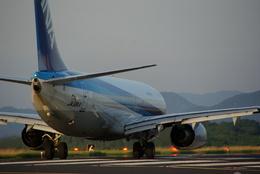 kuronbodakenさんが、鳥取空港で撮影した全日空 737-881の航空フォト(飛行機 写真・画像)