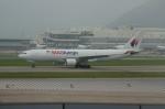 しんさんが、香港国際空港で撮影したマレーシア航空 A330-223Fの航空フォト(写真)