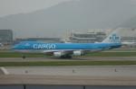しんさんが、香港国際空港で撮影したKLMオランダ航空 747-406F/ER/SCDの航空フォト(写真)