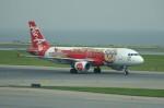 しんさんが、香港国際空港で撮影したエアアジア A320-216の航空フォト(写真)