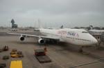 しんさんが、香港国際空港で撮影したオリエント・タイ航空 747-346の航空フォト(写真)