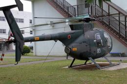 りんたろうさんが、宇都宮飛行場で撮影した陸上自衛隊 OH-6Dの航空フォト(飛行機 写真・画像)