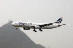 まいけるさんが、香港国際空港で撮影したキャセイパシフィック航空 A330-343Xの航空フォト(写真)