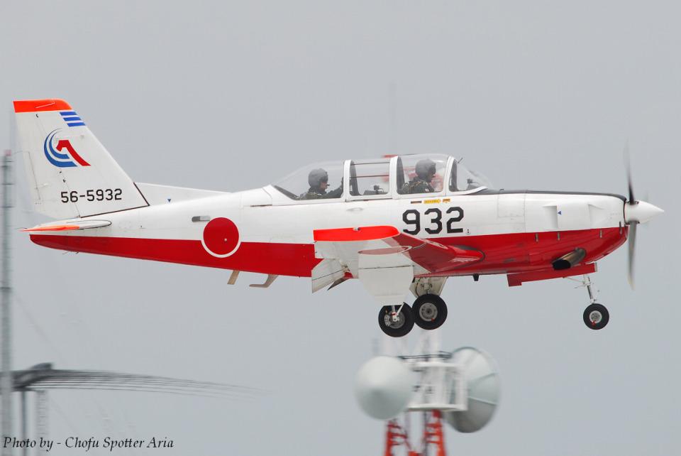 Chofu Spotter Ariaさんの航空自衛隊 Fuji T-7 (56-5932) 航空フォト