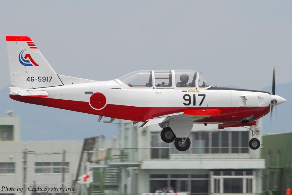 Chofu Spotter Ariaさんの航空自衛隊 Fuji T-7 (46-5917) 航空フォト