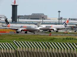 うーたろうさんが、成田国際空港で撮影したジェットスター A320-232の航空フォト(飛行機 写真・画像)
